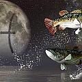 Pisces Zodiac Symbol by Daniel Eskridge