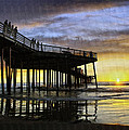 Pismo Sunset View by Sharon Foster