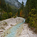 Pisnica River - Autumn - Slovenia by Phil Banks