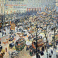 Pissarro's Boulevard Des Italiens In Morning Sunlight by Cora Wandel