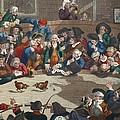 Pit Ticket, 5th November 1759 by William Hogarth