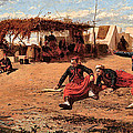 Pitching Quoits by Winslow Homer