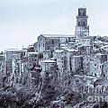 Pitigliano  Stands On An Abrupt Tuff Butte High Above The Olpeta by Peter Noyce