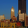 Pittsburg At Dusk by Stephen Whalen