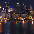 Pittsburgh After The Setting Sun by Michelle Joseph-Long