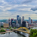 Pittsburgh And Above by Rachel Cohen