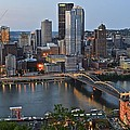 Pittsburgh Before Sunset by Frozen in Time Fine Art Photography