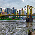 Pittsburgh Clemente Bridge by C H Apperson