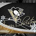 Pittsburgh Penguins Christmas by Joe Hamilton