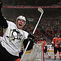 Pittsburgh Penguins V Philadelphia by Bruce Bennett