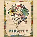 Pittsburgh Pirates Vintage Art by Florian Rodarte