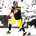 Pittsburgh Steelers Ben Roethlisberger by Brian Reaves