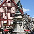 Place Francois Rude - Dijon by Christiane Schulze Art And Photography