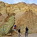 Places To Climb In Golden Canyon In Death Valley National Park-california by Ruth Hager