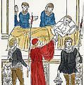 Plague Patient, 1500 by Granger