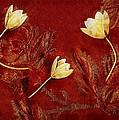 Plain Flowers Pop Art by Pepita Selles