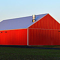 Plain Jane Red Barn by Bill Swartwout Photography