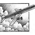 Plane by Chris Van Es