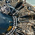Plane Engine Close Up by Paul Ward