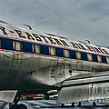 Plane Fly Eastern Air Lines by Paul Ward