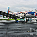 Plane On The Tarmac by Paul Ward