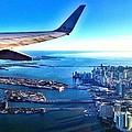Plane Over Miami by Gilda Parente
