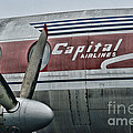 Plane Vintage Capital Airlines by Paul Ward