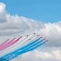 Planes Fly In Airshow by Science Source