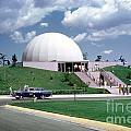 U.s. Air Force Academy Planetarium At Colorado Springs 1961 by Wernher Krutein