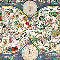 Planisphere Coeleste Star Map 1680 by Science Source
