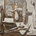 Plasterer's Tools 2 by Anke Classen