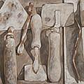 Plasterer's Tools by Anke Classen