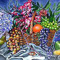 Plastic Fruits And Flowers by Annette Jimerson