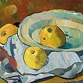 Plate Of Apples by Paul Serusier