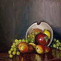 Plate With Fruit by Nicolas Bouteneff