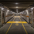 Platform Eight At Union Station by Adam Romanowicz