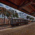 platform view of the first railway station of Tel Aviv by Ron Shoshani