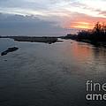 Platte River, Nebraska by Mark Newman
