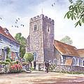 Plaxtol Church Wedding by Steve Crisp