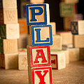 Play - Alphabet Blocks by Edward Fielding