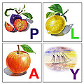 Play Art Alphabet For Kids Room by Irina Sztukowski
