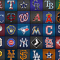 Play Ball Recycled Vintage Baseball Team Logo License Plate Art by Design Turnpike