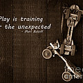 Play Is Training For The Unexpected by Edward Fielding