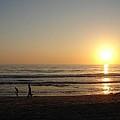 Play On California Beach by Keisha Marshall