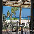 Playa Blanca Restaurant Bar Area Punta Cana Dominican Republic by Heather Kirk