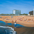 Playa De La Barceloneta by Stephen Degan