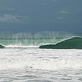 Playa Hermosa Wave Number Two Central Pacific Coast Costa Rica by Michelle Constantine
