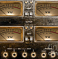 Playback Recording Vu Meters Grunge by Gunter Nezhoda