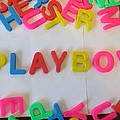 Playboy - Magnetic Letters by David Lovins