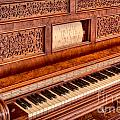 Piano Keys In The Key Of Life by Inge Johnsson